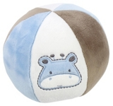 PLÜSCHBALL Sally - Blau/Weiß, Basics, Textil (15cm) - MY BABY LOU