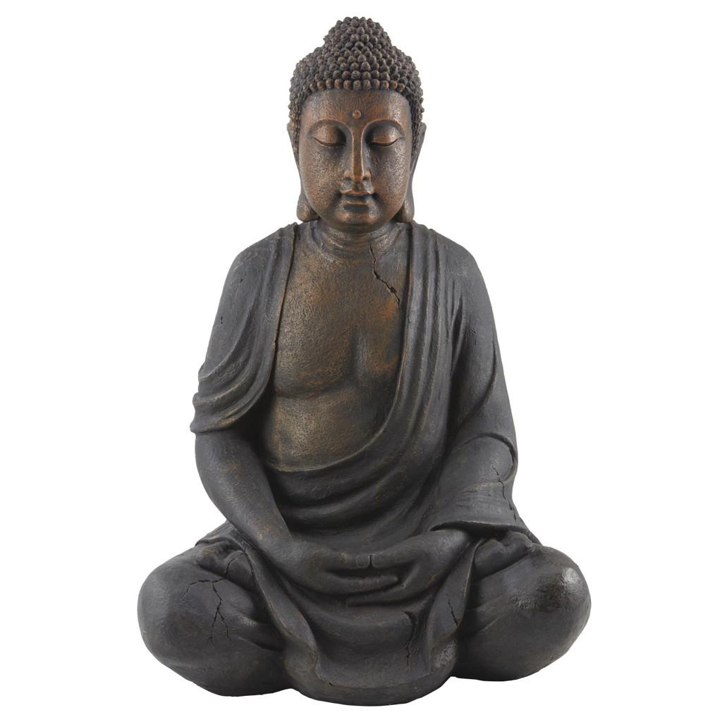 Buddha figur aus holz preisvergleich die besten angebote for Buddha figur holz