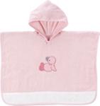 PONCHO - Rosa/Weiß, Textil (65/50cm) - MY BABY LOU
