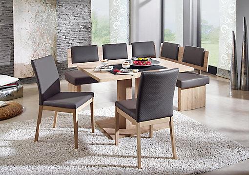 Superb ECKBANK in Holzwerkstoff Textil Braun Eichefarben Sandfarben online kaufen XXXLutz
