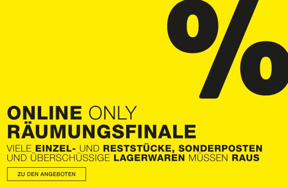 Online Only Räumungsverkauf