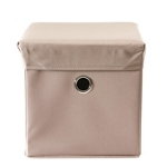 SPIELZEUGBOX 32/32/32 cm - Taupe, Holz/Kunststoff (32/32/32cm) - MY BABY LOU