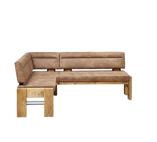 eckbank holz metall textil eichefarben hellbraun eckb nke b nke esszimmer produkte. Black Bedroom Furniture Sets. Home Design Ideas