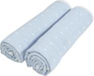 STOFFWINDEL - Hellblau, Textil (25/50cm) - MY BABY LOU