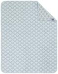 SCHMUSEDECKE 75/100 cm - Grau/Hellblau, Textil (75/100cm) - MY BABY LOU