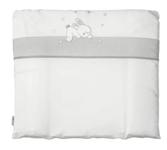 WICKELAUFLAGE - Weiß/Grau, Textil (85/75cm) - MY BABY LOU