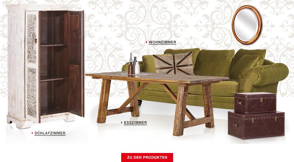 Vintage m bel deko einrichtung mit nostalgischem flair for Wohnzimmer vintage modern