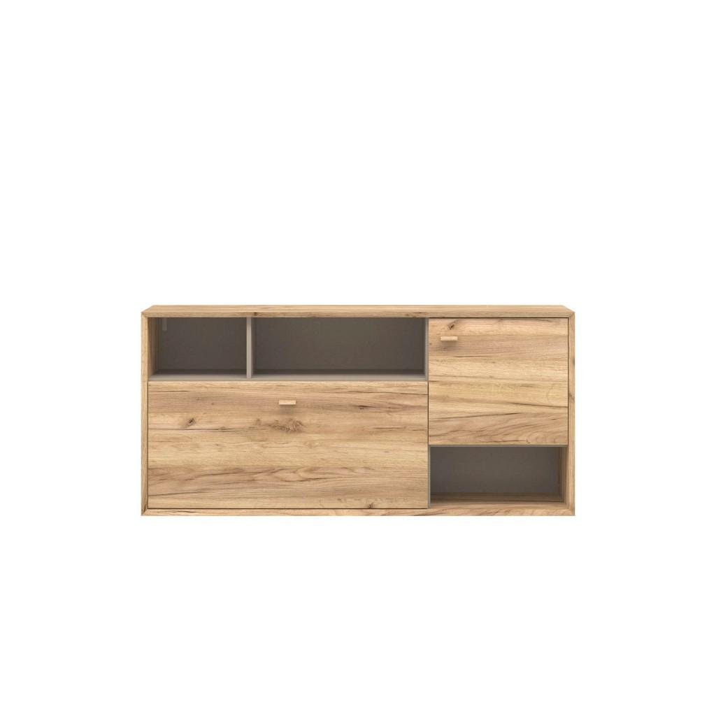 h ngeschrank mit schiebet r preisvergleich die besten angebote online kaufen. Black Bedroom Furniture Sets. Home Design Ideas