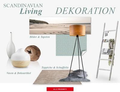 Skandinavisch dekorieren  Skandinavische Dekoration