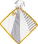SCHMUSETUCH - Weiß/Grau, Textil (24/24cm) - MY BABY LOU