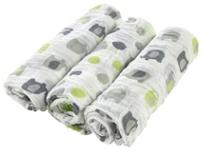 STOFFWINDEL - Weiß/Grau, Textil (80/80cm) - MY BABY LOU