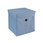 SPIELZEUGBOX 32/32/32 cm - Blau, Holz/Kunststoff (32/32/32cm) - MY BABY LOU