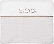 WICKELAUFLAGE SCHÄFCHEN - Taupe/Beige, Textil (85/75cm) - MY BABY LOU