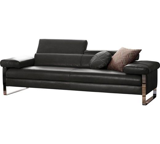 longlife leder zweisitzer anthrazit sofas polsterm bel wohnzimmer produkte. Black Bedroom Furniture Sets. Home Design Ideas