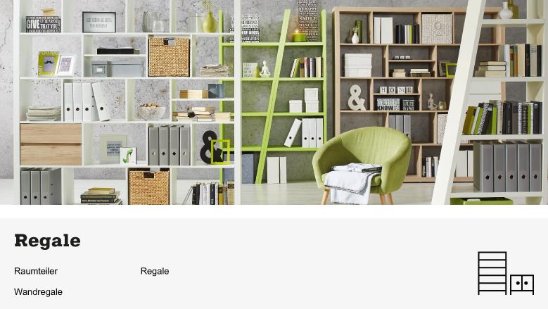 regale online entdecken m max. Black Bedroom Furniture Sets. Home Design Ideas