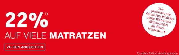 Matratzenaktion