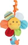 SPIELUHR SPRINGTIME - Multicolor, Kunststoff/Textil (26cm) - MY BABY LOU