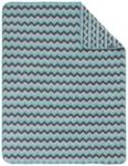 SCHMUSEDECKE 75/100 cm - Türkis/Weiß, Textil (75/100cm) - MY BABY LOU