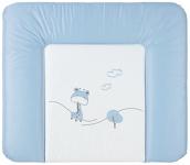 WICKELAUFLAGE - Blau, Basics, Kunststoff (72/85cm) - MY BABY LOU