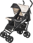 BUGGY Lilly - Beige/Schwarz, Textil/Metall (36/108cm) - MY BABY LOU