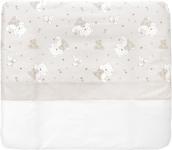 WICKELAUFLAGE - Taupe/Weiß, Textil - MY BABY LOU