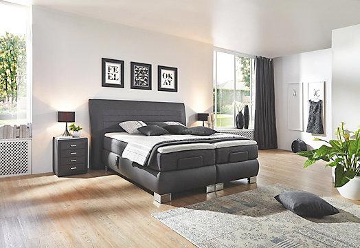 boxspringbett modern crystal. Black Bedroom Furniture Sets. Home Design Ideas