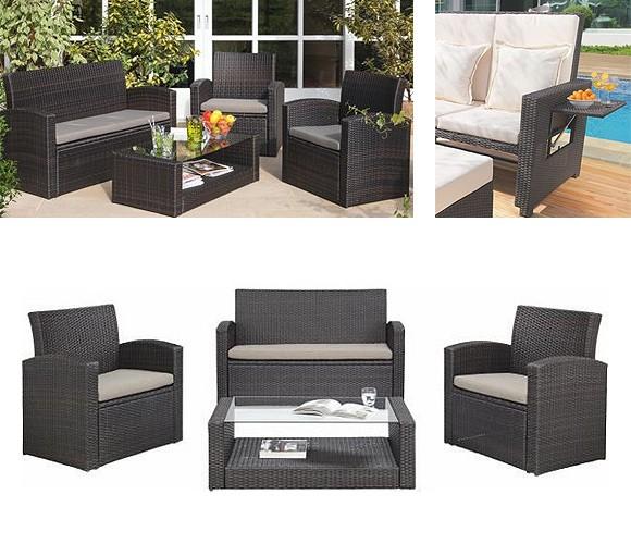 gartenm bel materialien holz kunststoff oder metall. Black Bedroom Furniture Sets. Home Design Ideas