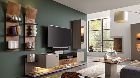 moderne tv eckm bel. Black Bedroom Furniture Sets. Home Design Ideas
