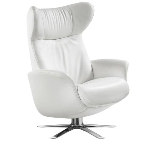 sessel longlife leder wei sessel polsterm bel. Black Bedroom Furniture Sets. Home Design Ideas