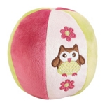 SPIELBALL - Pink, Textil (11cm) - MY BABY LOU