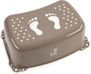 TRITTHOCKER LUCKY - Taupe, Kunststoff (42,5/28,5/14,5cm) - MY BABY LOU