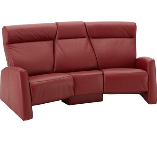 trapezsofa rot longlife leder sofas polsterm bel wohnzimmer produkte. Black Bedroom Furniture Sets. Home Design Ideas