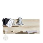 WANDREGAL MATHILDA - Naturfarben/Weiß, Holz/Holzwerkstoff (94/38/17cm) - MY BABY LOU