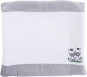 WICKELAUFLAGENBEZUG ZEBRA - Weiß/Grau, Textil (75/85cm) - MY BABY LOU