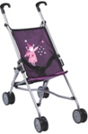PUPPENWAGEN - Pink/Lila, Kunststoff/Textil (51/26,5/55cm) - MY BABY LOU