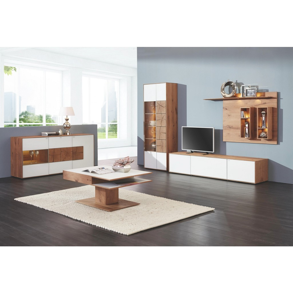 Wohnzimmermöbel Angebote: Wohnwand Weiß Preisvergleich • Die Besten Angebote Online