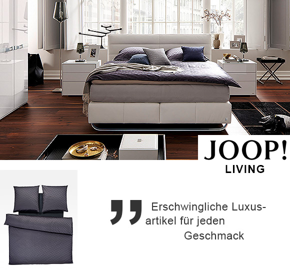 joop living. Black Bedroom Furniture Sets. Home Design Ideas