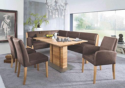Fresh ECKBANK in Holz Textil Dunkelbraun Eichefarben online kaufen XXXLutz