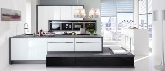 einbauk chen nolte. Black Bedroom Furniture Sets. Home Design Ideas