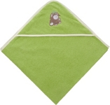 KAPUZENBADETUCH DIEGO - Grün, Textil (100/100cm) - MY BABY LOU