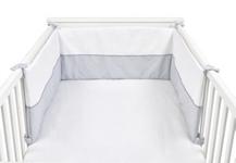NESTCHEN - Weiß/Grau, Textil (30/210cm) - MY BABY LOU