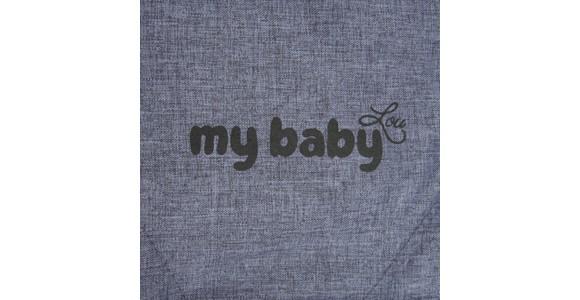 BUGGY Madrid - Blau/Schwarz, Basics, Textil/Metall (80,5/47,5/106,5cm) - MY BABY LOU