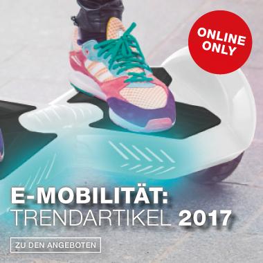 Trend 2017 - E-Mobiliät