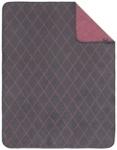 SCHMUSEDECKE 75/100 cm - Beere/Grau, Textil (75/100cm) - MY BABY LOU