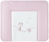 WICKELAUFLAGE - Rosa, Basics, Kunststoff (72/85cm) - MY BABY LOU