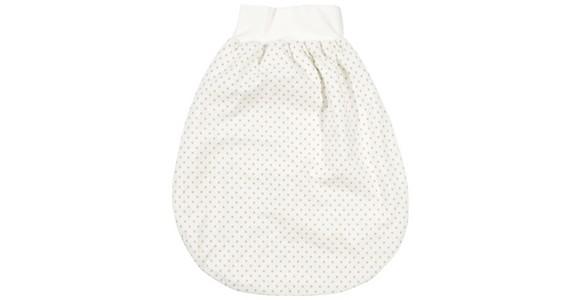 STRAMPELSACK Diego - Taupe/Weiß, Basics, Textil (62) - MY BABY LOU
