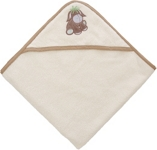 KAPUZENBADETUCH DIEGO - Creme, Textil (80/80cm) - MY BABY LOU