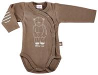 WICKELBODY - Braun, Textil (62) - MY BABY LOU
