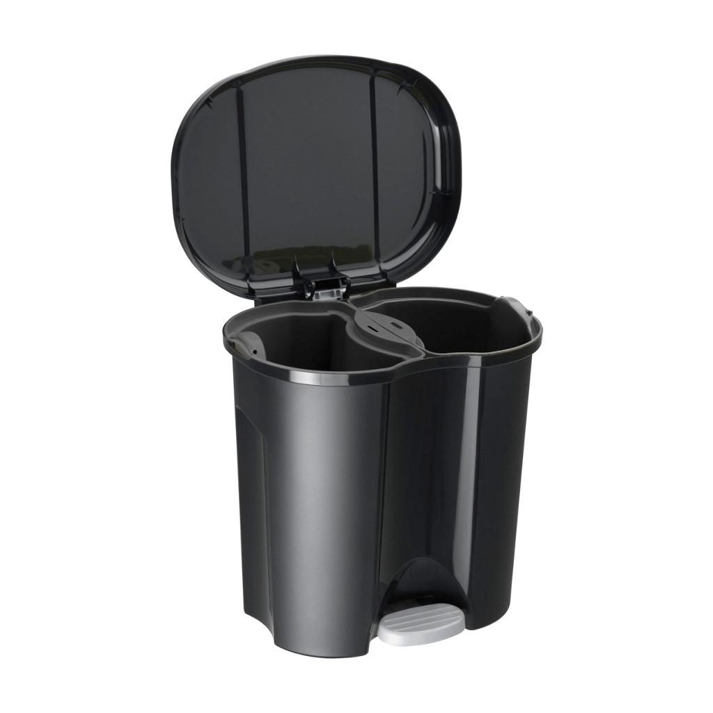 abfalleimer 20 liter edelstahl preisvergleich die besten angebote online kaufen. Black Bedroom Furniture Sets. Home Design Ideas