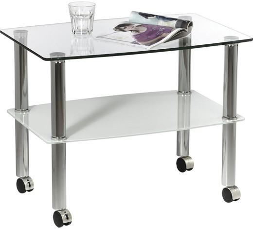 Beistelltisch rechteckig klar wei online kaufen xxxlshop for Glas beistelltisch rechteckig